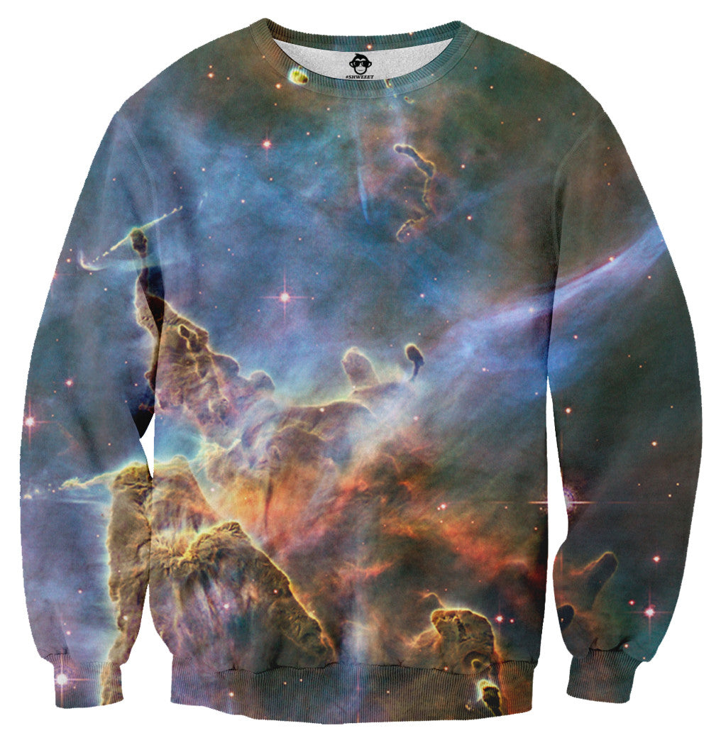Nebula Galaxy Sweater - Shweeet