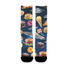 Image of UFO Galaxy Junk Food Socks - Shweeet