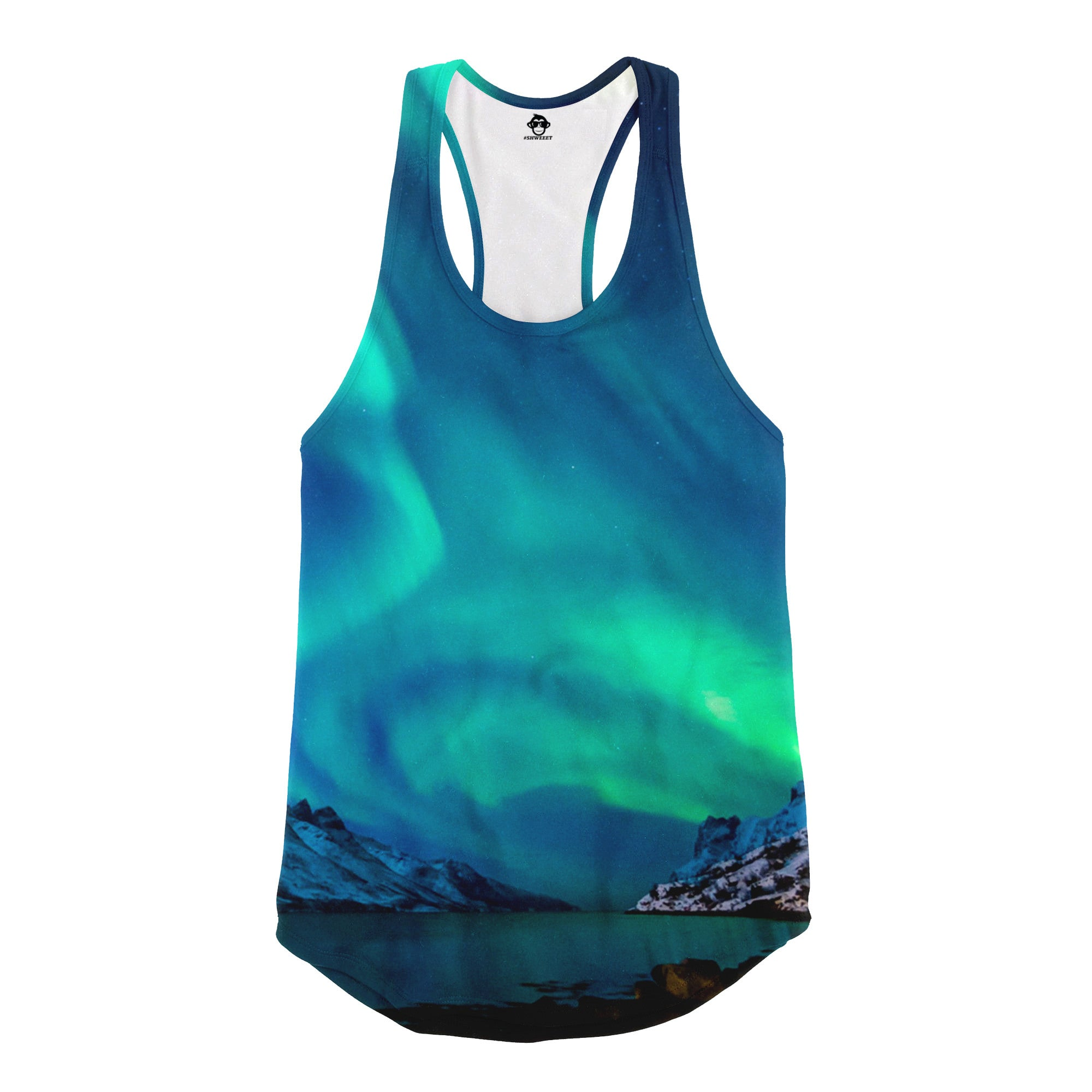 Northern Lights Racerback Tank