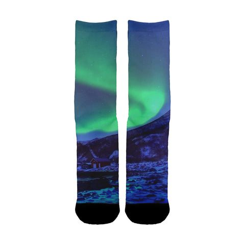 Northern Lights Socks - Shweeet