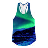 Northern Lights Racerback Tank Top