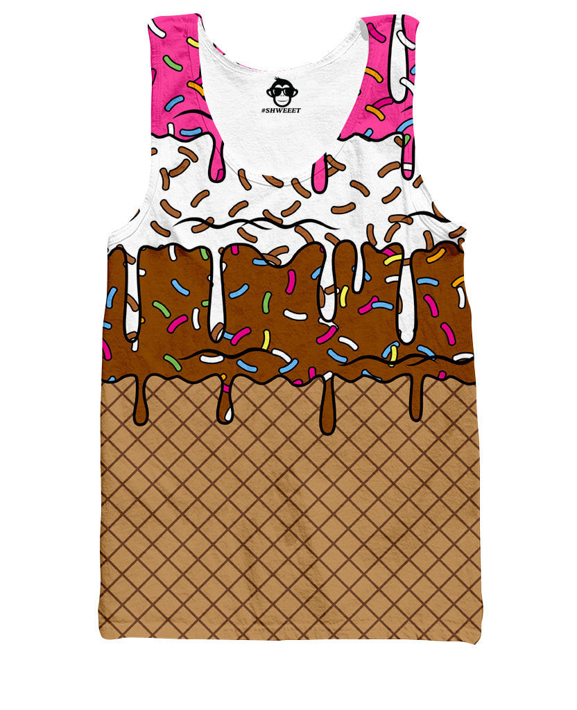 Neapolitan Ice Cream Tank Top - Shweeet