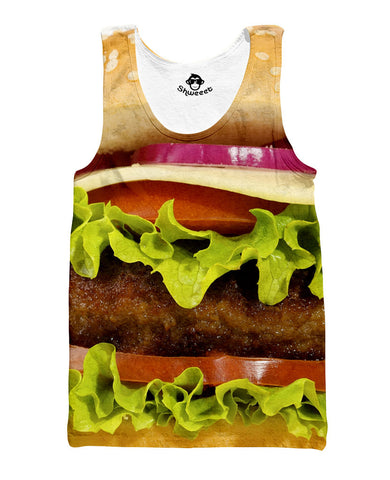 Burger Tank top - Shweeet