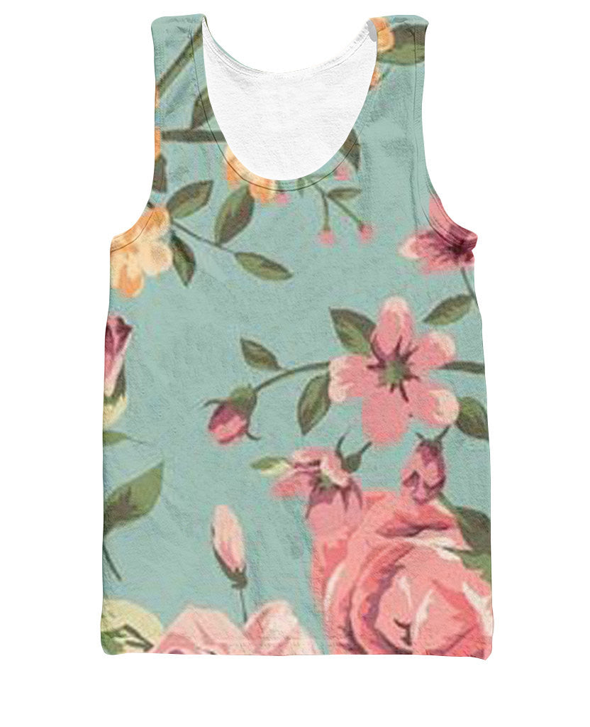 Floral Tank Top - Shweeet