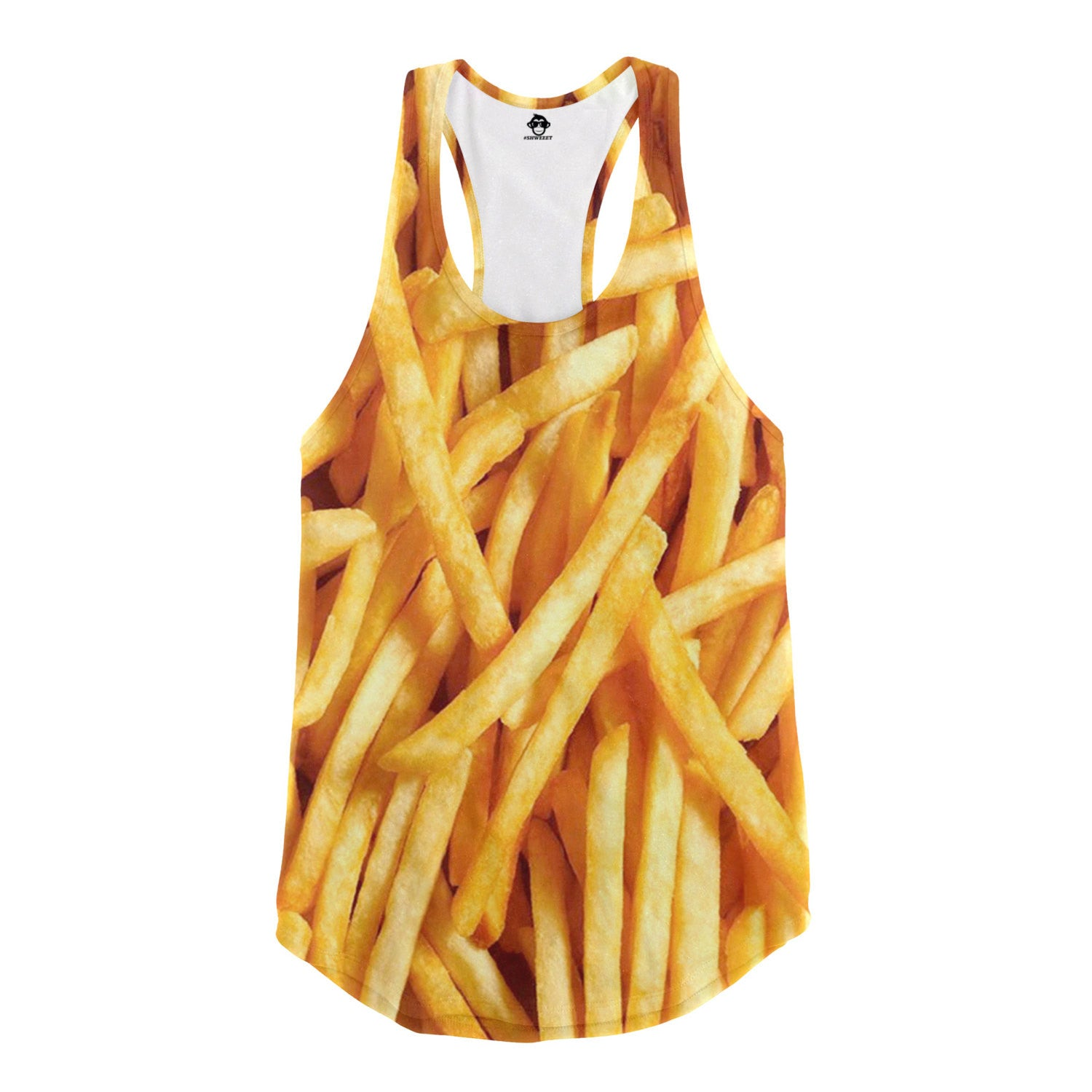 French Fries Racerback Tank - Shweeet