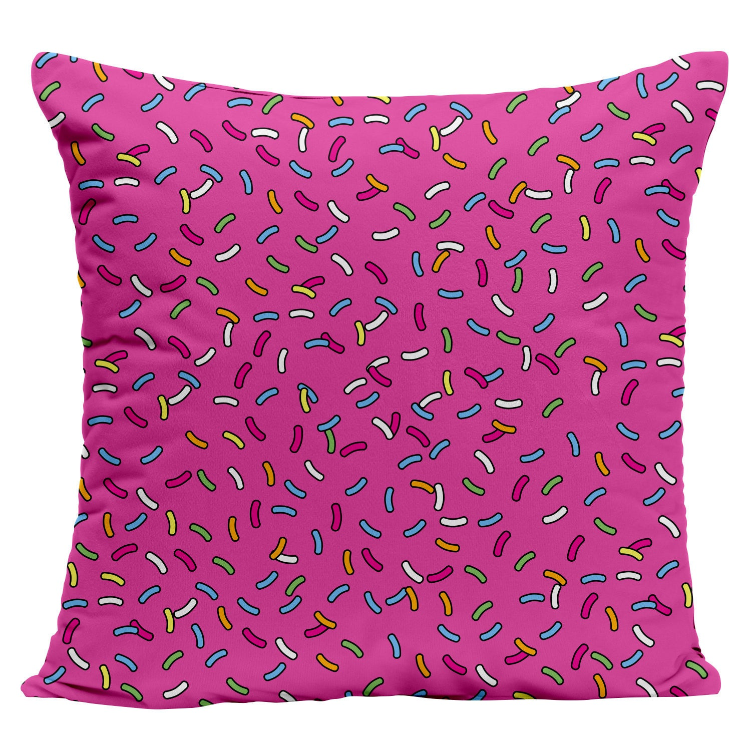 Pink Frosting Donut Pillow