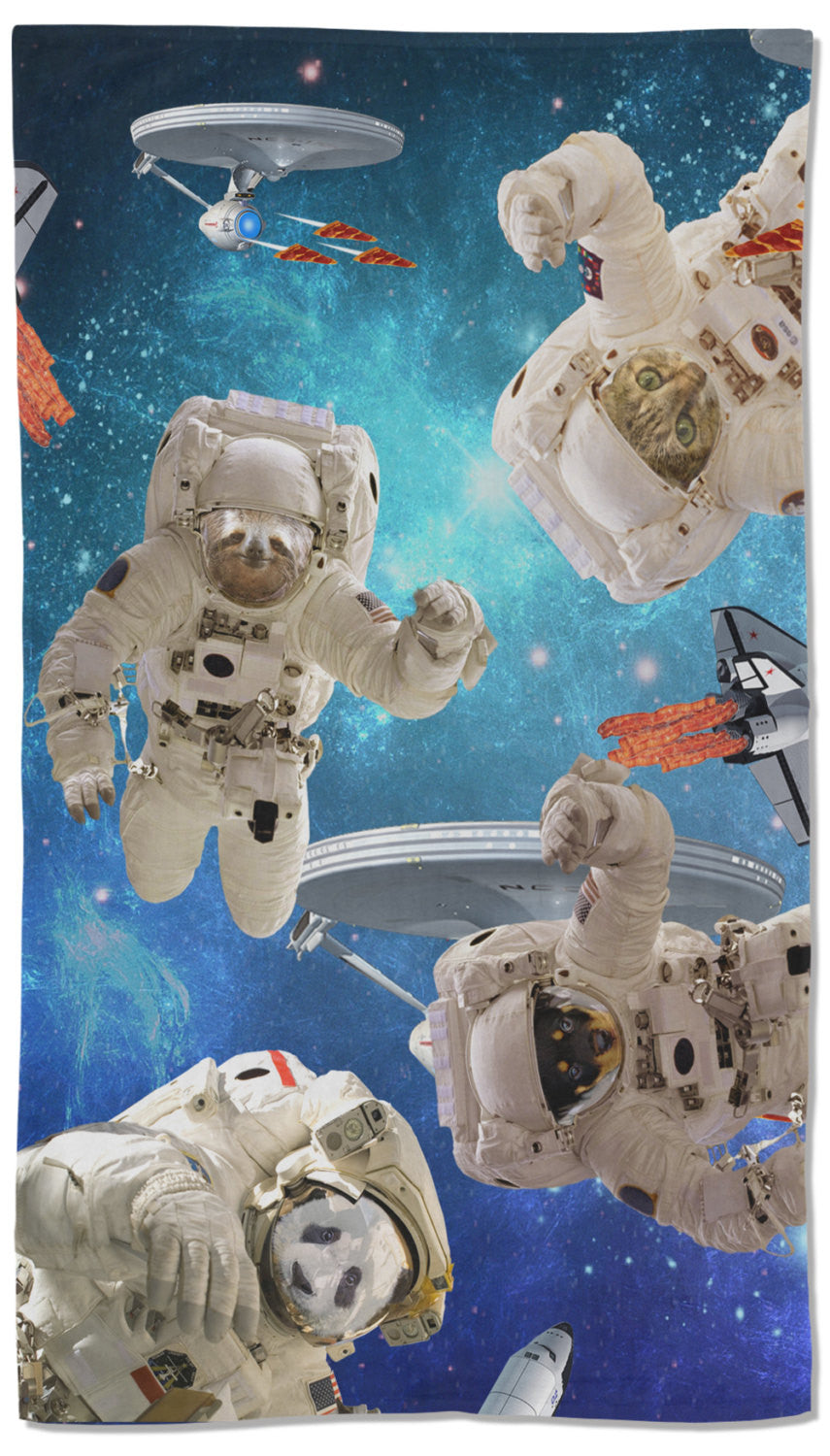 Animals Astronaut Towel - Shweeet