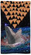 Galaxy Shark Pizza Towel - Shweeet