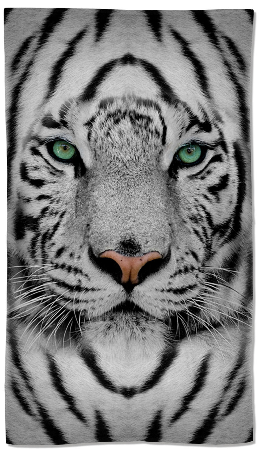 White Tiger Towel