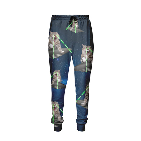 Galaxy Cats Attack Jogger Pants - Shweeet