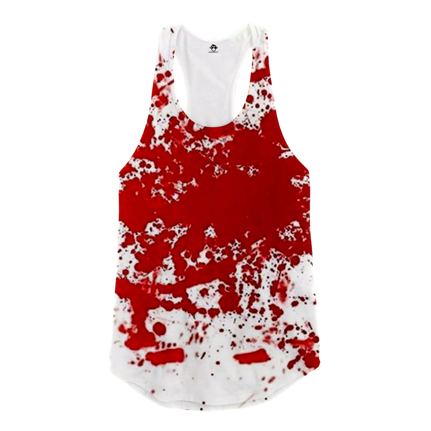 Bloody Racerback Tank Top