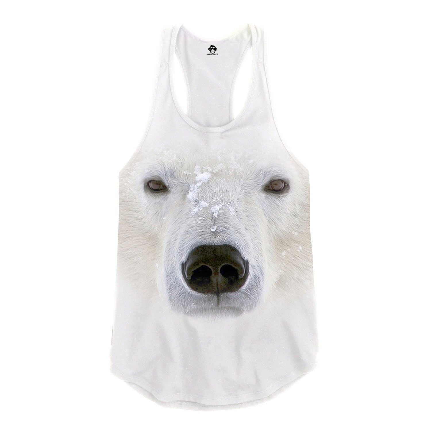Polar Bear Racerback Tank Top
