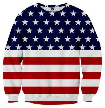 American Flag Sweater - Shweeet