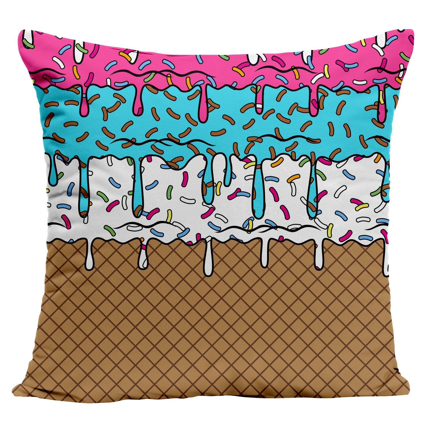 Ice Cream Pillow