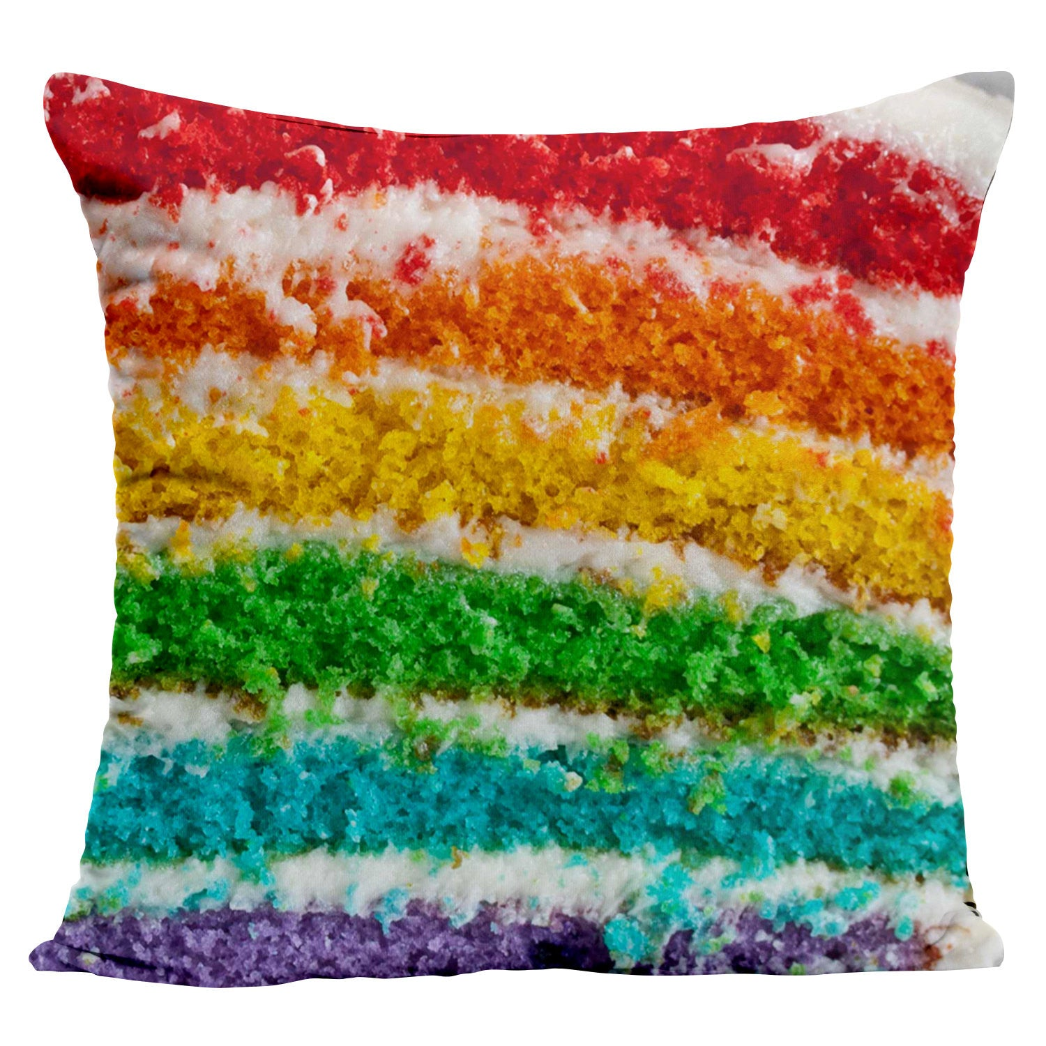 Rainbow cake Pillow