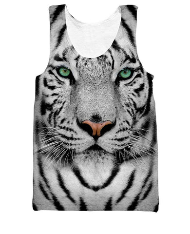 White Tiger Tank Top - Shweeet