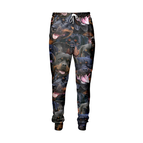 Rottweiler Faces Jogger Pants - Shweeet