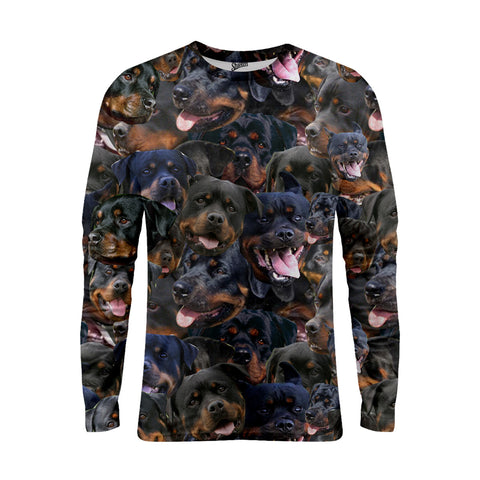 Rottweiler Long Sleeve T-shirts - Shweeet
