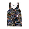 Image of Rottweiler Faces Tank top