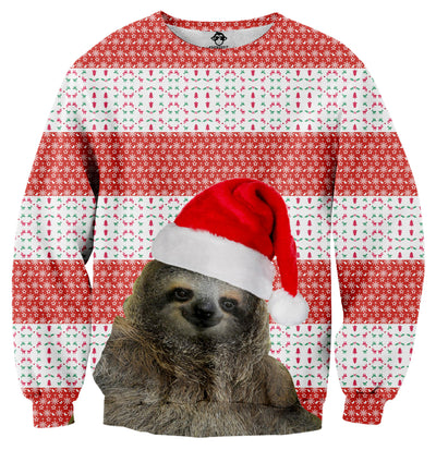 Santa Sloth Sweater - Shweeet