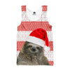 Santa Sloth Tank top - Shweeet