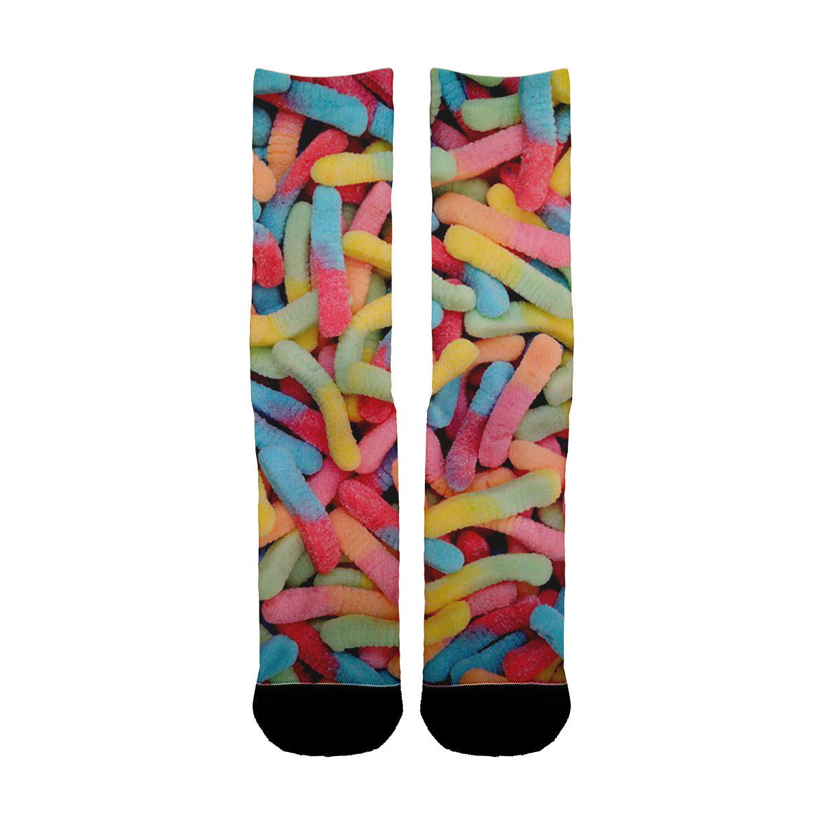 Sour Worms Socks - Shweeet