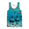 Scuba Oskar and Klaus Tank top - Shweeet