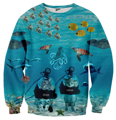 Scuba Oskar and Klaus Sweater - Shweeet
