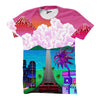 Image of Joyride All over print vaporwave shirt