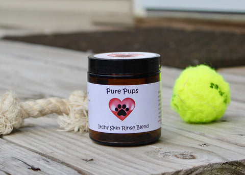 Pure Pups Itchy Skin Rinse Blend