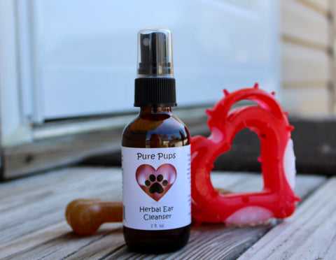 Pure Pups Herbal Ear Cleanser