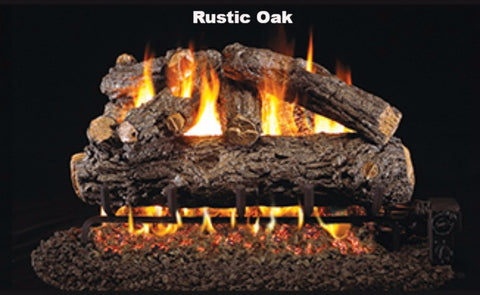 "Realfyre Vented Logs for G4, G45, G46 Series - Rustic Oak - 30"" - HR"