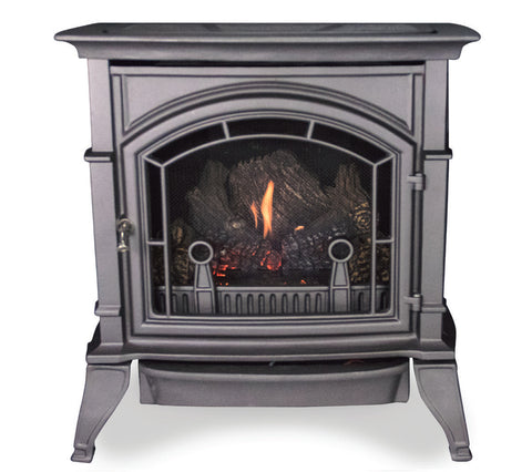 Monessen Vent Free Cast Stoves - Graphite - Natural Gas - CSVF30