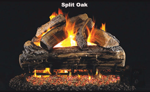 "Realfyre Vented Logs for G4, G45, G46 Series - Split Oak - 18"" - S"