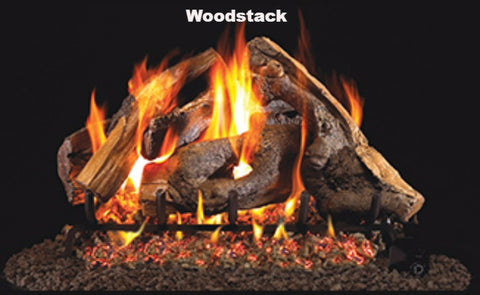 "Realfyre Vented Logs for G4, G45, G46 Series - Woodstack - 18"" - WS"