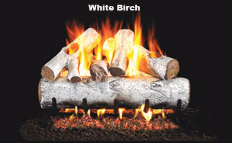 "Realfyre Vented Logs for G4, G45, G46 Series - White Birch - 30"" - W"