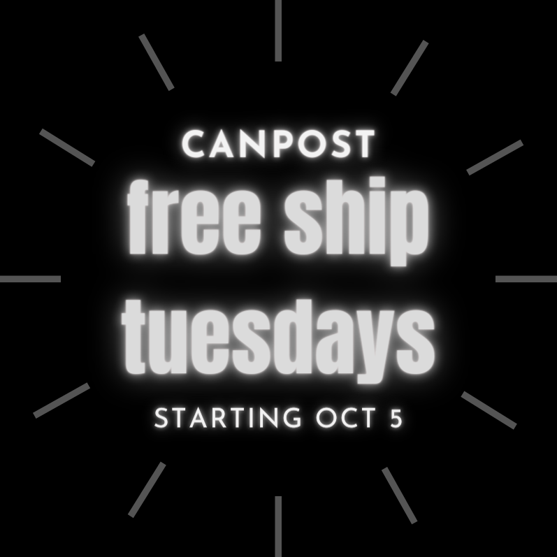 Canada Post Snap Ship Free Ship Tuesdays in October