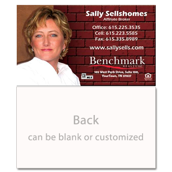 Brick Wall Real Estate Card-Prostyle-AGENTestore