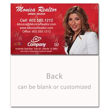 Classic Red Real Estate Card-Prostyle-AGENTestore