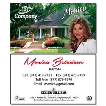 Dream Home Real Estate Card - AGENTestore