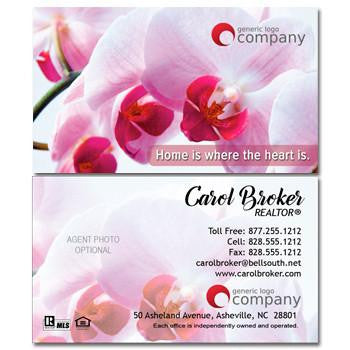 Home and Heart-Orchid Real Estate Card - AGENTestore