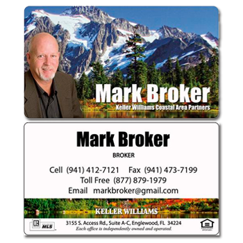 Mountains Real Estate Card - AGENTestore