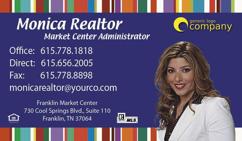 Stripes Real Estate Card - AGENTestore