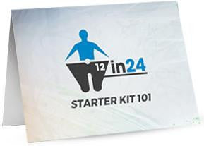 Valentus 12 in 24 Starter Kit Cards - AGENTestore