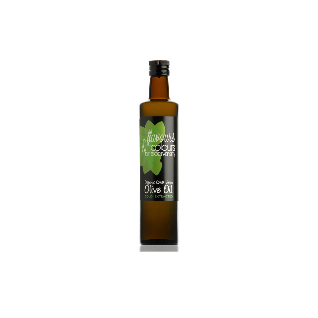 Flavours & Colours Organic Extra Virgin Olive Oil 250 ml - Spanish.nl