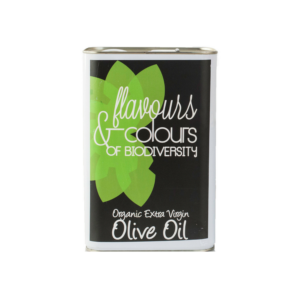 Flavours & Colours Organic Extra Virgin Olive Oil 5 liters - Spanish.nl