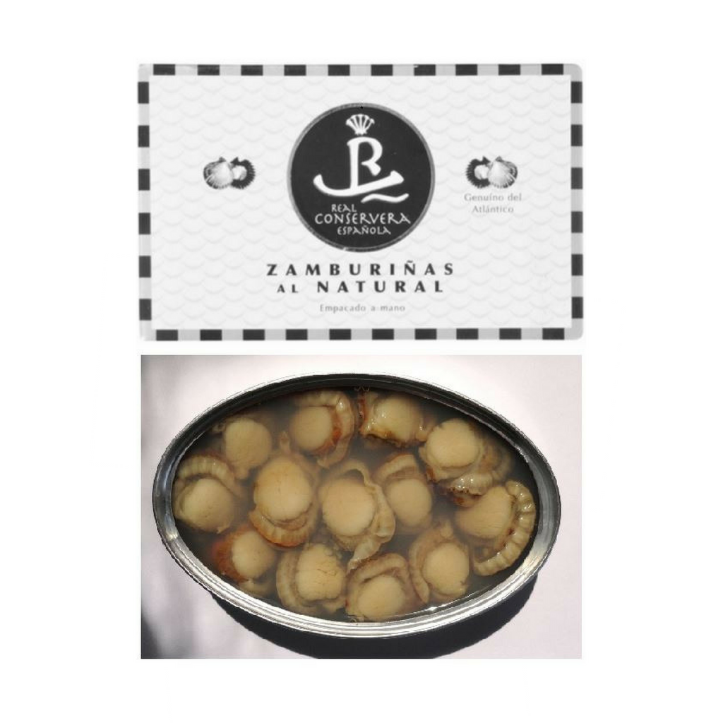 Real Conservera Española Zamburinas (small scallops) in natural water
