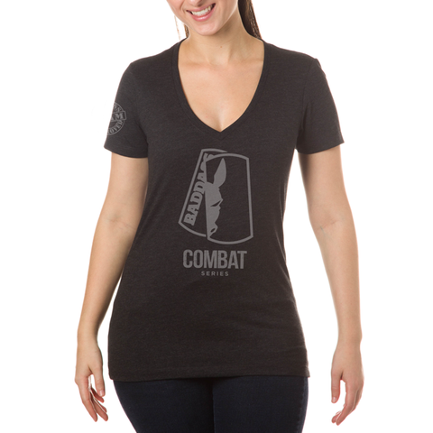 Women's Combat Deep V Fitted Tri Blend