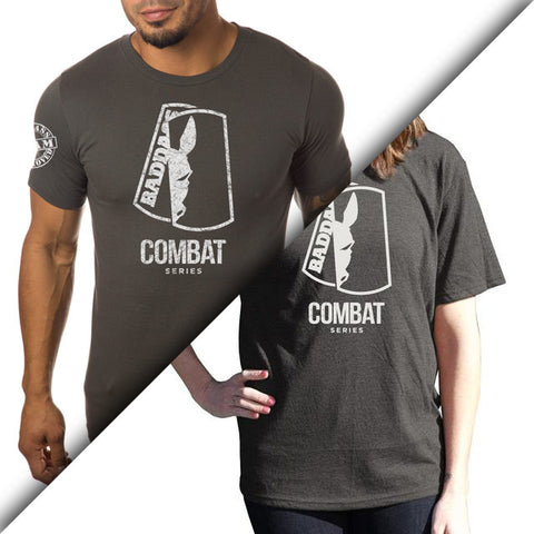 Men/Women Combat Pledge Heavy Cotton Crew