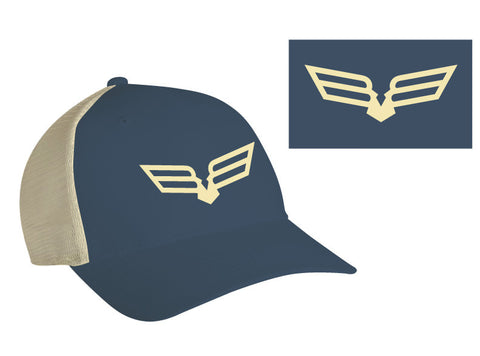 Textron Off Road Trucker Cap - Blue